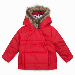 padded-parka-with-buttons-and-hood-for-girls-red-les-parisiens