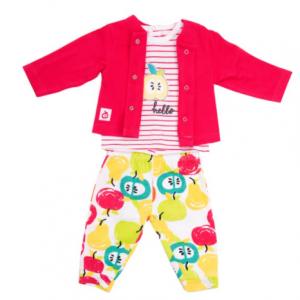 Babybol baby girl 3pce trouser suit