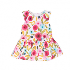Babybol girls pretty floral dress