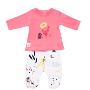 Babybol pastel baby girl 2 piece trouser suit