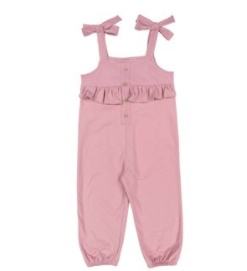 Babidu funny one piece suit pink