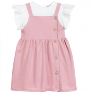 Babidu 2pce dress set - pink