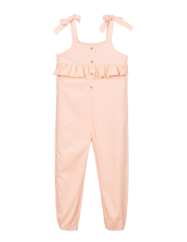 Babidu cotton jumpsuit - orange