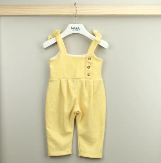 Babidu alejandra one piece suit yellow