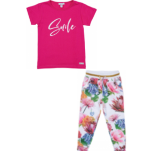 Happy calegi olivia pink tshirt and pants