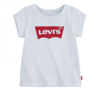 Levi's batwing tee with red logo