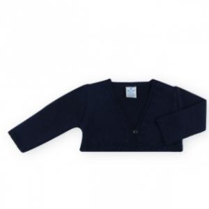 sardon fine knit bolero cardigan for baby girl