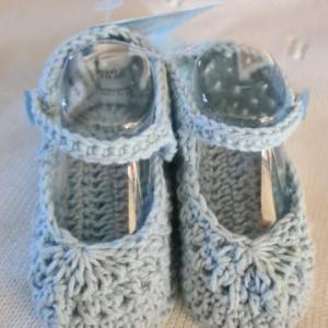 Sardon crochet sandal blue