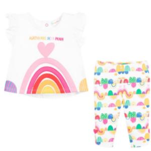Agatha ruiz de la prada rainbow legging set
