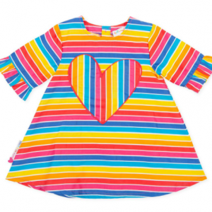 Agatha Ruiz De La Prada poplin dress multicoloured