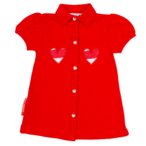 Agatha Ruiz De La Prada Red Dress macro raya