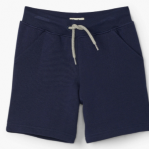 Hatley navy terry shorts with pockets