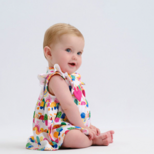 Agatha ruiz de la prada baby dress and bloomer set
