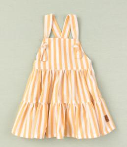 Cocote mustard stripe dress