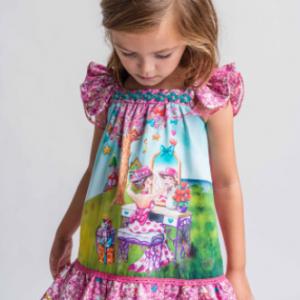 Rosalita senorita boyd dress model