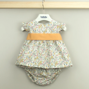 Babidu Mia floral dress and bloomers