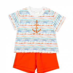 Tutto piccolo short set - orange