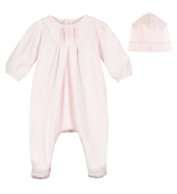 Emile et rose Pink timeless piece with hat