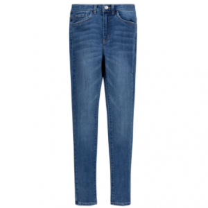 Levi's 720 High rise super skinny hometown blue denim jeans