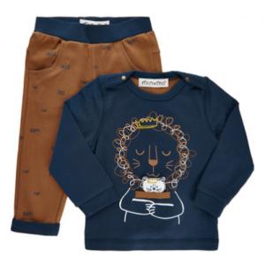 Minymo organic cotton lion set