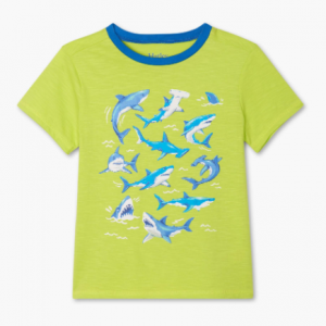 Hatley deep sea sharks graphic t-shirt