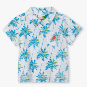 Hatley palm baby polo shirt