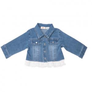 Babybol babygirl soft denim jacket