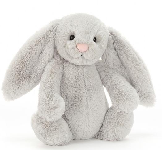 Jellycat silver bashful bunny medium