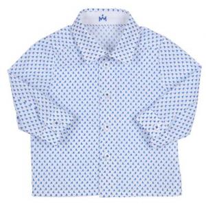 Gymp kids long sleeve shirt blue