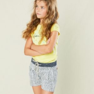 Nono animal print outfit lemon t-shirt with adventure