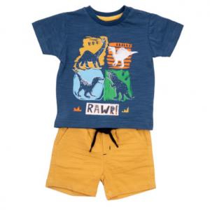 Babybol dinosaur short set