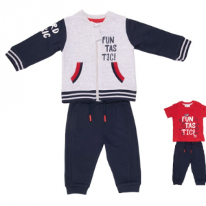 Babybol three piece tracksuit set