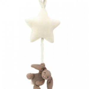 Jellycat bashful bunny beige bunny star musical pull