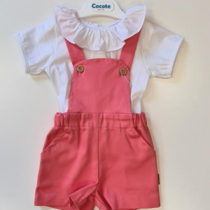 Cocote pink dungarees