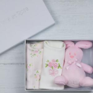 Emile et rose pink girls gift set