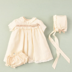 Cocote 3piece dress, briefs and hat