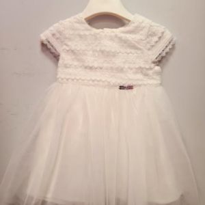 Alice Pi white tulle dress