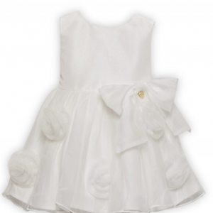 Alice Pi flower dress - ivory