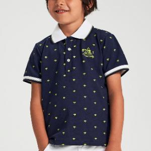 I DO cotton polo shirt - navy