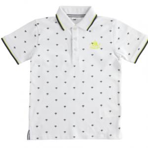 I Do polo shirt white