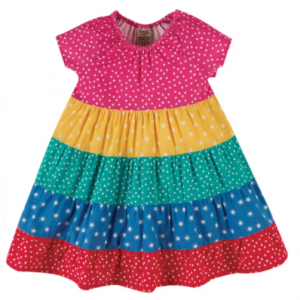 Frugi gots organic dorothy twirly dress