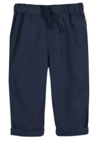 Frugi Gots Organic cotton tommy trousers - indigo