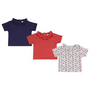 LILLY & SID ORGANIC COTTON 3PK COLLARED TOP 3PACKKLSAG311_575x
