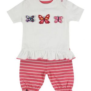 Lilly & sid organic cotton Butterfly short set