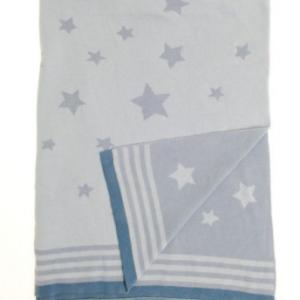 ziggle blue star blanket
