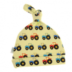 Ziggle tractor hat for new baby