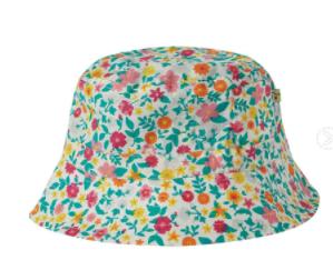 Frugi Gots Organic Cotton Hattie Reversible Hat