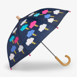 Hatley lightening clouds colour changing umberella