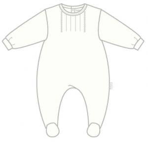Babybol white all in one babygrow