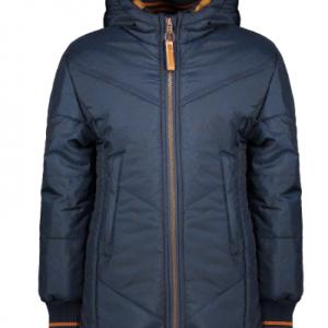 Nono navy lined winter coat, warm and cosy